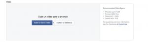Captura de Segmentación facebook ads pulsa rec productora audiovisual en madrid
